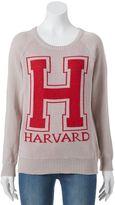 "Juniors' ""Harvard"" Graphic Sweater"