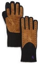 Polo Ralph Lauren Cashmere Blend Gloves w/ Suede