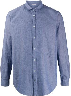 Massimo Alba Chambray Long Sleeve Shirt