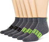 Puma Mens 6-pk. Quarter Socks