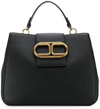Elisabetta Franchi Logo Plaque Tote Bag
