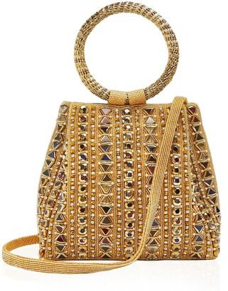 MAE CASSIDY Rekha Reflect Crossbody Gold