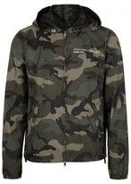 Valentino Camouflage-print Shell Jacket