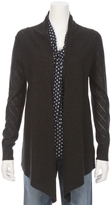 L'Agence Giorgia Pointelle Open Front Cardigan
