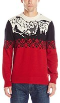 Dockers Mountain Scenery Cotton Crew-Neck Holiday Sweater