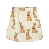 Mini Rodini Mini RodiniGirls Ivory Rabbit Print Skirt