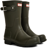 Hunter Short Rain Boot Green