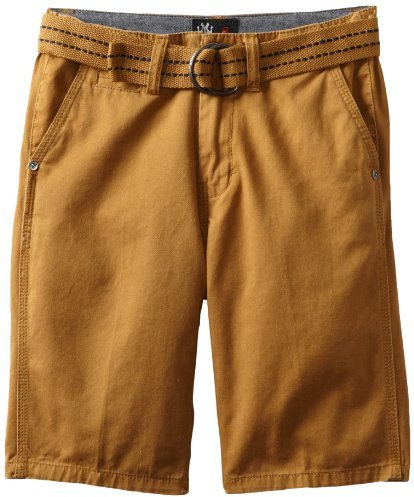 Micros Big Boys' Voyager Belted Solid Short
