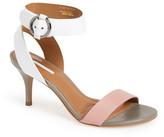 Topshop &Nickle& Ankle Strap Sandal (Women)
