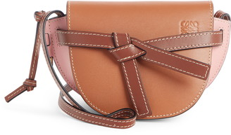 Loewe Mini Gate Leather Crossbody Bag