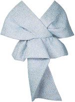 DELPOZO shawl blouse - women - Polyamide/Polyester - 38