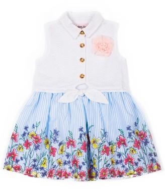 Little Lass Toddler Girl Floral Dress
