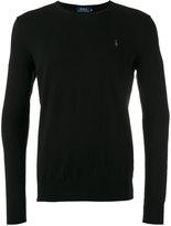 Polo Ralph Lauren embroidered logo sweatshirt - men - Cotton/Cashmere - M