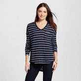 Merona Women's Striped Sweater Knit Tunic
