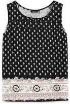 Forever 21 Girls Paisley Print Top (Kids)