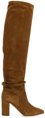 Aquazzura Milano knee-high boots