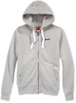Superdry Men's Orange Label Zipper Hoodie