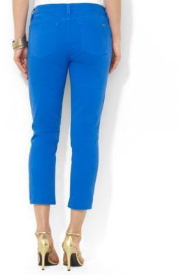 Lauren Ralph Lauren Slimming Cropped Straight Jeans