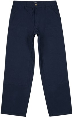 Carhartt Wip Double Knee black twill trousers