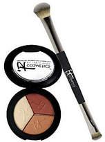 """It Cosmetics Anti-Aging Shadow Trio & """"No Tug"""" Shadow Brush"""