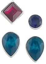 ABS by Allen Schwartz Geometric Stud Earrings, Set of 4