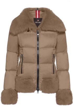 Post Card Dardana Sheepskin & Fur Down Jacket