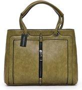 iris Ladies PU Leather Handbags Chic Shoulder Bags Satchel Totes Purse for Women