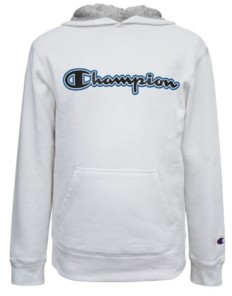 Champion Hd Gel Script Big Boys Fleece Hoodie