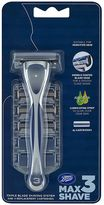 Boots Max Shave 3 Triple Blade Shaving System & 4 Refills