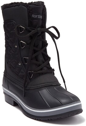 Northside Modesto Quilted Faux Shearling Lined Duck Boot - Wide Width