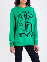 Christopher Kane Kane wool jumper