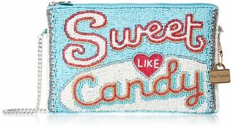 Mary Frances Sweet Like Beaded Candy Bar Mini Crossbody Handbag