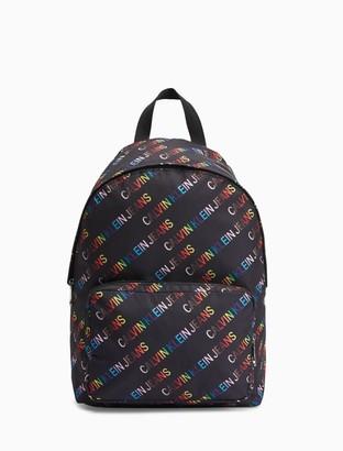 Calvin Klein Pride Logo Campus Backpack