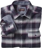 Johnston & Murphy Brushed Melange Shirt Jacket