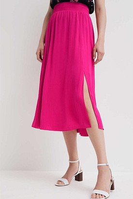Witchery Soft Split Skirt