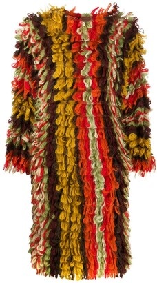 Missoni Pre Owned Tassel Wave Knitted Dress