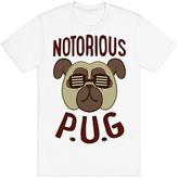 White 'Notorious P.U.G.' Tee - Plus Too