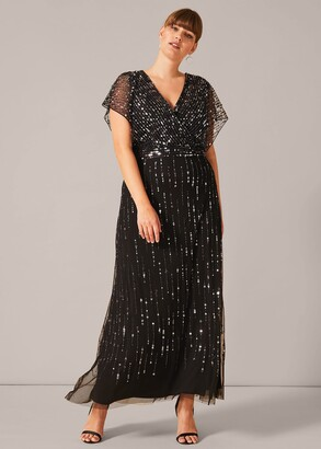 Phase Eight Shante Sequin Maxi Dress