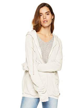 Freecity Women's artistswanted superflufflux Zip Hooded Sweatshirt