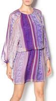 Charlie Jade Sheer Sleeve Mini Dress