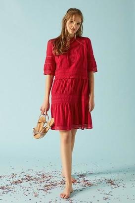Petite Mendigote Rebecca Grenade Dress - XS