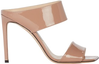 Jimmy Choo Hira 100 Patent Leather Sandals