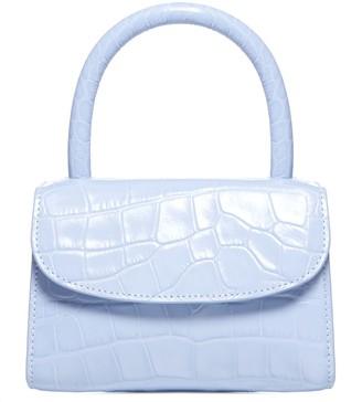 BY FAR Mini Crocodile-effect Leather Bag