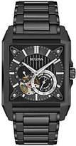 Bulova Men's Automatic Black IP Watch