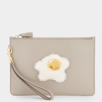 Anya Hindmarch Egg Zip-Top Pouch
