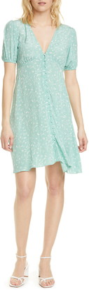 Sams?E Sams?E Petunia Floral Short Sleeve Fit & Flare Dress