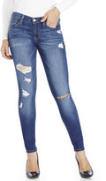 Flying Monkey Blue Destroyed Skinny Jeans