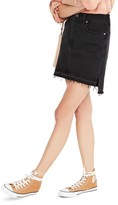 Madewell Women's Step Hem Denim Miniskirt