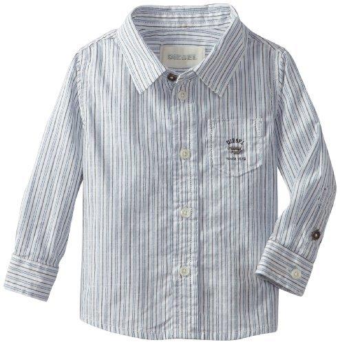 Diesel Baby-boys Infant Cozicb Yarn Dye Stripe Woven
