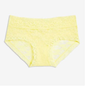 Joe Fresh Lace Boyshort, Light Yellow (Size S)